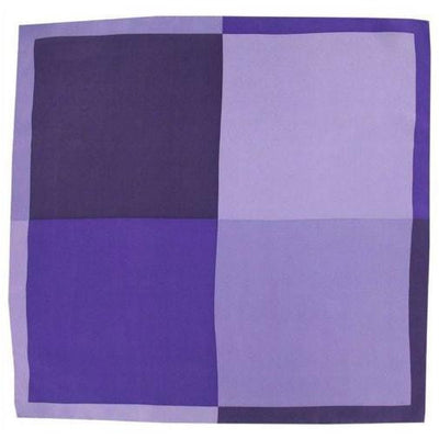 H. Halpern Esq. 'Shades of Purple' Pocket Square