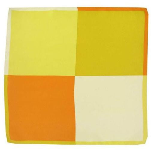 H. Halpern Esq. 'Shades of Yellow' Pocket Square