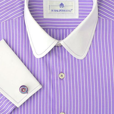 H. Halpern Esq. 'Purple Martin' Dress Shirt