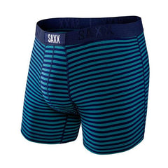 SAXX 'Navy & Teal Stripes' Boxer Briefs