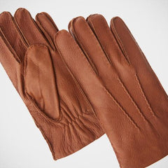 Axissimo 'Cognac and Cashmere' Gloves
