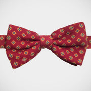 Marchesi di Como 'Wool Neat - Burgundy' Pre-tied Bowtie