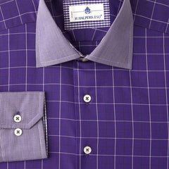H. Halpern Esq. 'Mulberry' Shirt