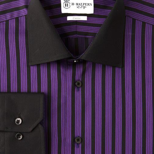 H. Halpern Esq. 'Sugar Plum' Dress Shirt.