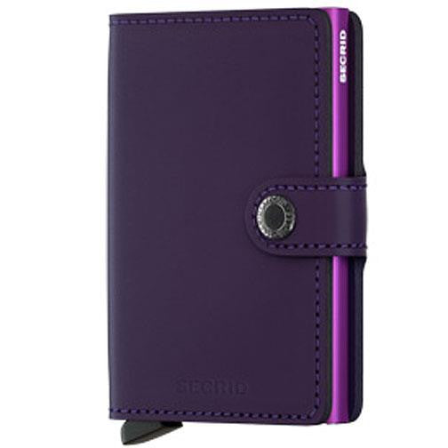 Secrid 'Miniwallet - Purple' Wallet