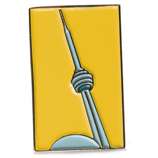 H. Halpern Esq. 'CN Tower-yellow' Canadian Cufflinks