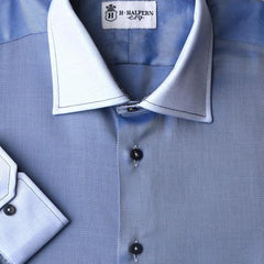 'Blue Tonal' Dress Shirt