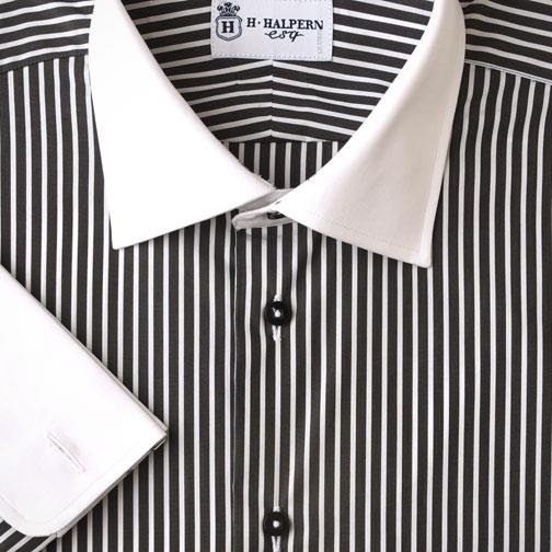 'Charcoal Stripes' Dress Shirt