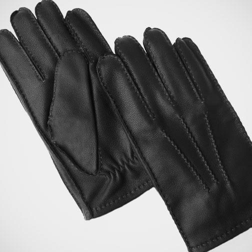 Axissimo 'Black and Cashmere' Gloves