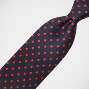 H. Halpern Esq. 'Navy with Red Dot' Tie