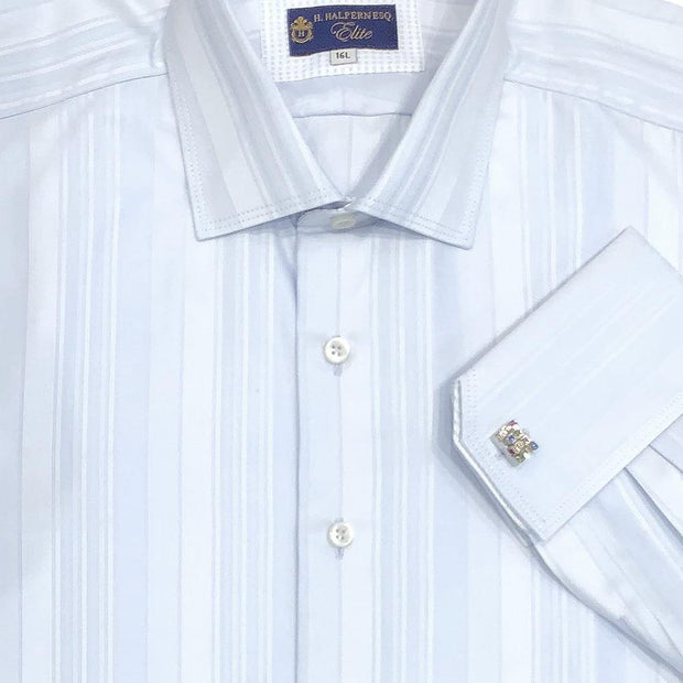 Elite 'Varied Blue Stripe' Dress Shirt