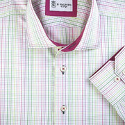H. Halpern Esq. 'Spring Check' Dress Shirt