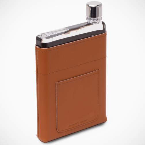 Memobottle 'A5 Leather Pocket'