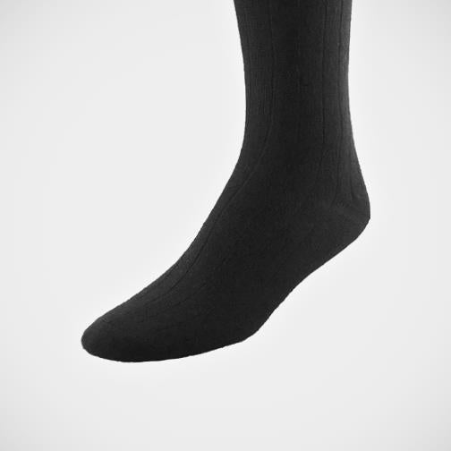 H. Halpern Esq. 'Cashmere Blend - Black' Socks.
