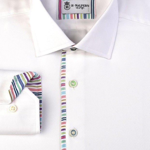 H. Halpern Esq. 'Candy Stripe' Dress Shirt