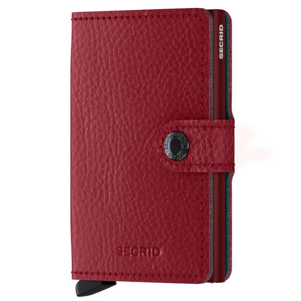 Secrid 'Miniwallet - Red Vegetable dye' Wallet