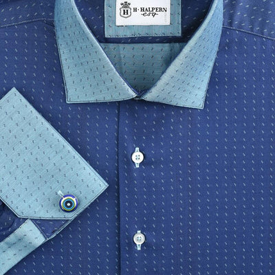 H. Halpern Esq. 'Galaxy' Dress Shirt.