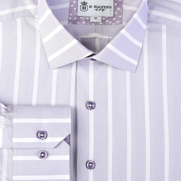 H. Halpern Esq. 'Lavender Mist' Dress Shirt