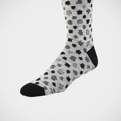 Bugatchi 'Dots in Grey' Socks.