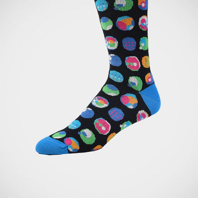 Bugatchi 'Marbles on Navy' Socks