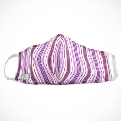 Dion 'Purple Stripes' Non-medical Mask