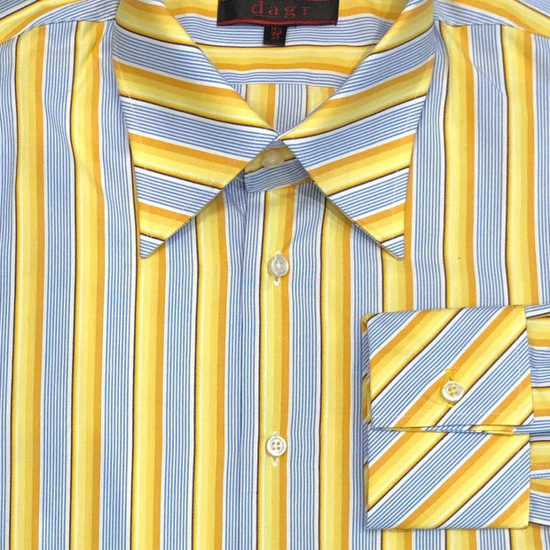Dagr 'Retro Stripe - Gold' Sport Shirt