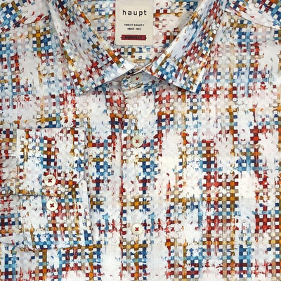 Haupt 'Squares & Colours' Sport Shirt