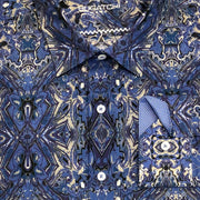 Bugatchi 'Ink Blot' Sport Shirt