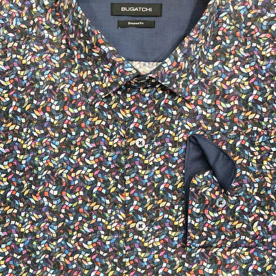 Bugatchi 'Stained Glass' Sport Shirt