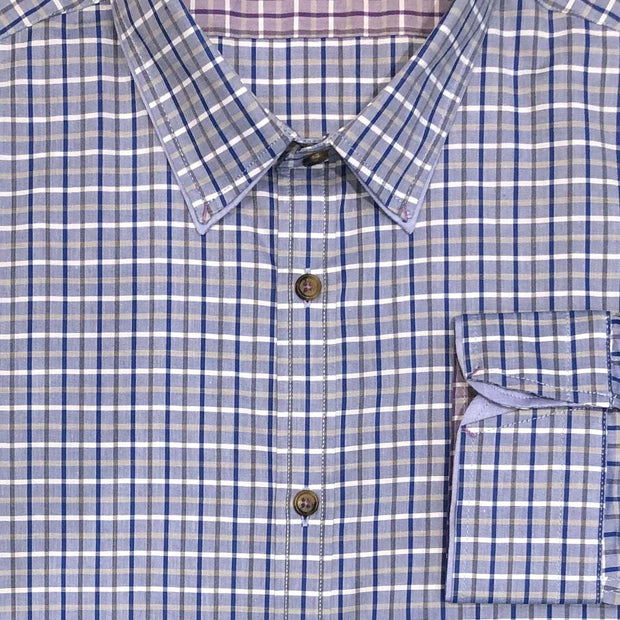 Ted Baker London 'Blue Check' Sport Shirt