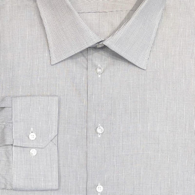 Lipson 'Mini Graph Check' Dress Shirt