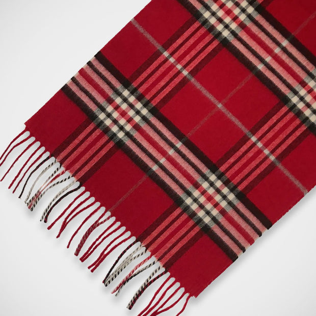 'Classic Check - Red' Scarf