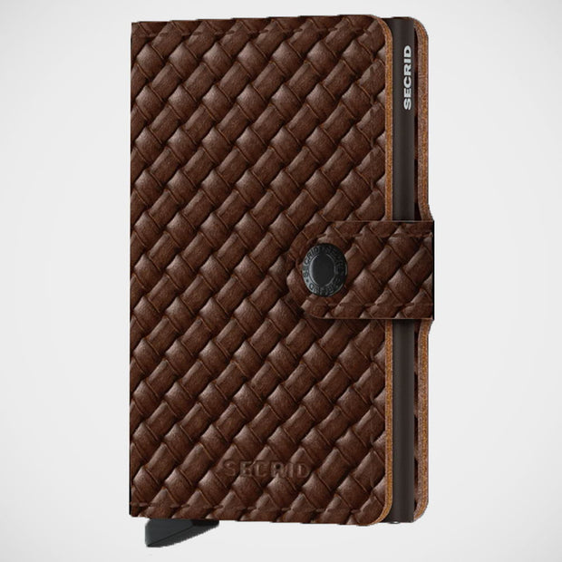 'Miniwallet - Basketweave' Wallet