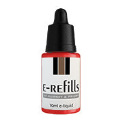 red tobacco e liquid
