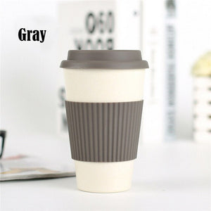 Bamboo Fibre Travel Coffee Cup