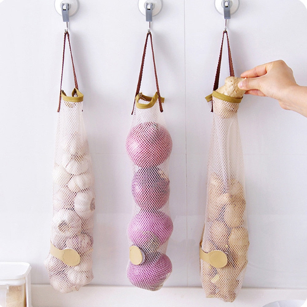 Reusable Hanging Bag Kitchen Storage