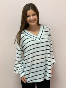 The Lounging Striped Top