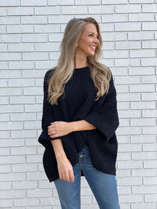 Black Out Black Sweater