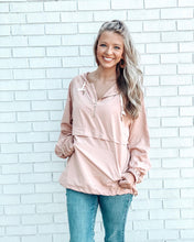 Load image into Gallery viewer, Blush Pullover Windbreaker
