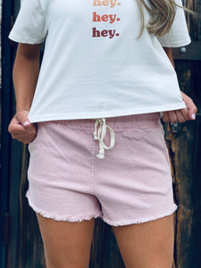 Show Some Love Pink Shorts