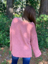 Load image into Gallery viewer, Let's be Grateful Mauve Sweater