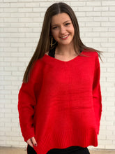 Load image into Gallery viewer, Red Hot Sweater