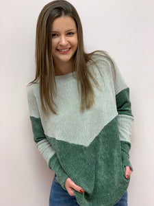 Only the Beginning Velvet Sweater