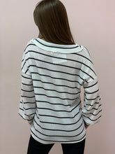 Load image into Gallery viewer, The Lounging Striped Top