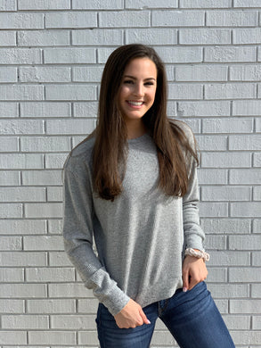 Be Basic Gray Knit