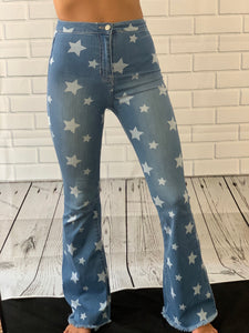 Oh My STAR Flare Jeans