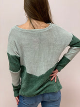 Load image into Gallery viewer, Only the Beginning Velvet Sweater