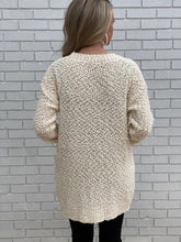Load image into Gallery viewer, Cream Popcorn Sweater