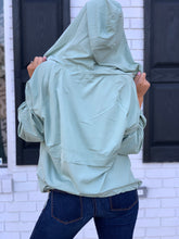 Load image into Gallery viewer, Sage Windbreaker Pullover