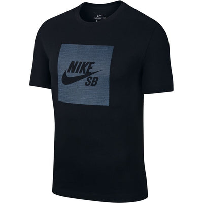 Nike SB Men's Logo Chambray Skate T-Shirt